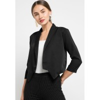 LLACES Clothing - Outerwear Wanita - LL Mini Blazer - Black