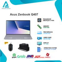 Asus Zenbook Q407iQ Ryzen 5 4500 8GB 256ssd MX350 2GB WIN10 14.0FHD