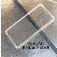 Case Anticrack Fiber Xiaomi Redmi Note 9 Anti Crack Knock Shock Bentur