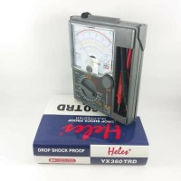 Multitester HELES YX360 TRD Buzzer / Avometer / Multimeter