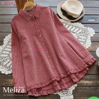 baju atasan wanita blouse murah terbaru real pict-meliza