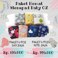 Paket Hemat Menspad Baby OZ 6 pcs (Day Saja)