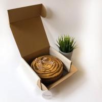 Cake Box 22cm | Kue Bolu Roti Brownies Lapis (22.0x22.0x9.0 cm)