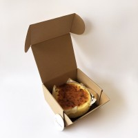 Cake Box 16cm | Kue Bolu Roti Brownies Lapis (16.0x16.0x9.0 cm)