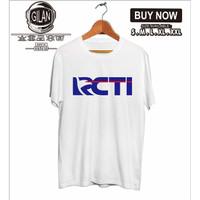 Kaos Baju RCTI Rajawali Citra Televisi Indonesia Logo Televisi