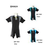 baju renang anak / diving anak SD 6-10 tahun - Biru, M