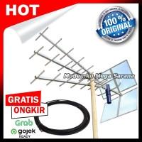Paket Antena TV Titis + Kabel RG6 15 Meter + Konektor