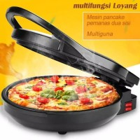 Alat Electric Oven Pan Panggangan Pizza Maker Oven Baking Pan Elektrik