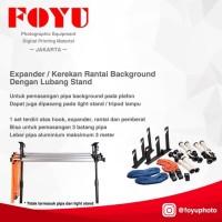Expander / Kerekan Rantai Background dengan Lubang Stand