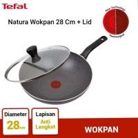 Tefal Natura Wok Pan 28cm + lid