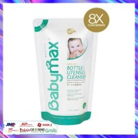 Babymax Botol Utensils Cleanser Refill 450ml Sabun Cuci Baby Max
