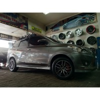 Paket Velg Mobil Datsun Go Ring 15 HSR SIADONG Plus Ban 185 65 R15