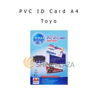Kertas PVC ID Card A4 Toyo - Kertas PVC Untuk ID Card Isi 5 Set