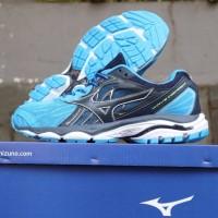Sepatu Volly Mizuno Wave Inspire Blue Black