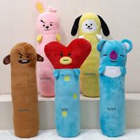 Boneka Bantal Guling BTS M 50cm Korea chooky chimmy shooky tata koya