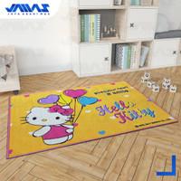 Karpet Karakter Hello Kitty Lucu Berbagai Motif Ukuran 1 x 1.4 meter - BALLOON