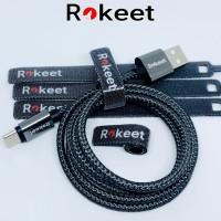 Kabel Strap Velcro Pengikat Perekat Kabel Universal Oiginal Rokeet