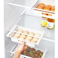 Ploka | rak laci tambahan isi kulkas telur buah sayur daging praktis