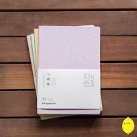 Floating Dream Glitter Grid Notebook B5 / Buku Catatan Kotak-Kotak