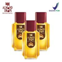 Bajaj Minyak Almond Hair Oil Drops (3 Pcs Set 100ml, 100ml & 100 ml)