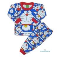 Baju Tidur Anak/Piyama Anak Doraemon 1-8 Tahun