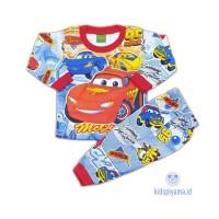 Baju Tidur Anak/Piyama Anak Cars 1-8 Tahun