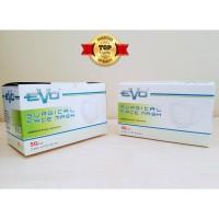 Masker Bedah EVO Surgical 3 ply Mask, 100% ORI SEGEL 50 pcs - HIJAB