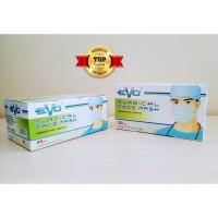 Masker Bedah EVO Surgical 3 ply Mask, 100% ORI SEGEL 50 pcs - EAR LOOP