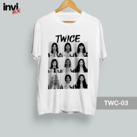 T Shirt K Pop , Kaos Twice -ALL Member [TWC-03]