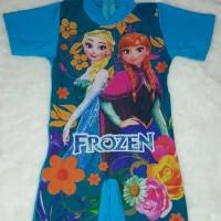 baju renang baby frozen biru
