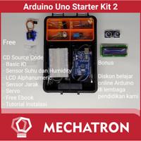 Arduino Uno Starter Learning Kit Compatible Paket Belajar 2 Free CD