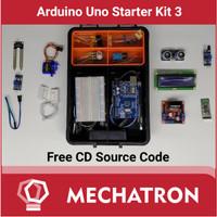 Arduino Uno Starter Learning Kit Compatible Paket Belajar 3 Free CD
