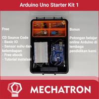 Arduino Uno Starter learning Kit Compatible Paket Belajar 1 Free CD