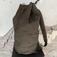 LVNTWLV tas ransel back pack duffle travel bag vintage millitary