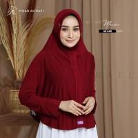 Hijab Arrafi Original Jilbab Bergo Antem Instant Lengan AR 448 Premium