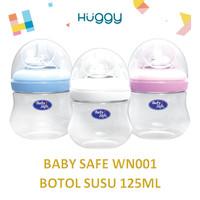 Baby Safe WN001 Wide Neck Bottle 125 ml 4oz Botol Susu Anak Bayi Murah