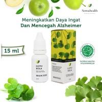 Sensahealth Gotu Kola - Obat Herbal Alzheimer - Daya Ingat 15 ml