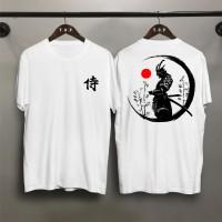TP Kaos Distro Pria Samurai Bulat DB Atasan Pria T-shirt Pria