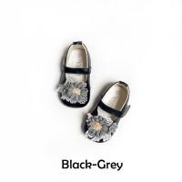 Sepatu Bayi Flat Prewalker Tamagoo - Melia Black Series Murah