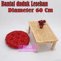 Bantal ibu hamil /Bantal duduk kursi / Bantal lesehan diameter 60Cm