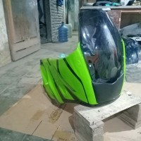 Fairing Bejita Lampu Buta PnP Ninja R/S