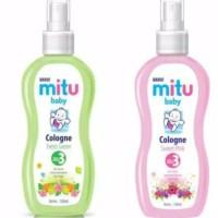 MITU BABY COLOGNE 50ML & 100ML / MINYAK WANGI BAYI