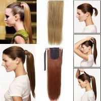 WIG PONI TAIL - WIG RAMBUT MODEL ARIANA GRANDE - SYNTHETIC HAIR CLIP