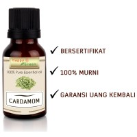 Happy Green Cardamom Essential Oil (80ml) - Minyak Kapulaga Cardamon