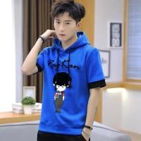 Sweater Kaos Rag Hoodie Hodie Jumper Murah Lengan Pendek Cowok Pria - benhur