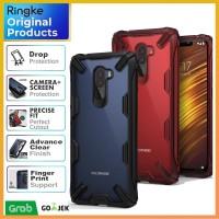Case Xiaomi Pocophone F1- Original Ringke Fusion X (Ultra Tough) - Hitam