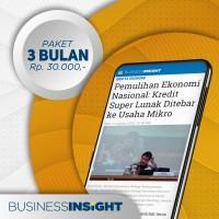 Langganan Business Insight 3 bulan