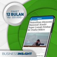 Langganan Business Insight 12 bulan