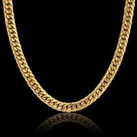 KALUNG PRIA TITANIUM GOLD MODEL RANTAI DOUBLE - Kuning