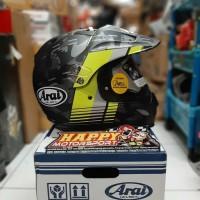 Helm Fullface ARAI TOURCROSS 3 COVER FLOUR YELLOW Original